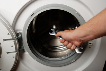 maintenance a washing machine