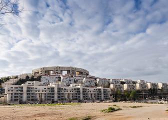 Building in Modi'in, Israel
