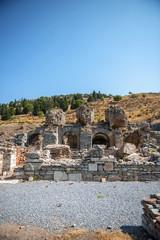 View of ancient city Ephesus, Turkey
