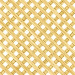 Wooden lattice