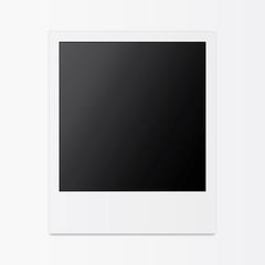 Retro empty photo frames
