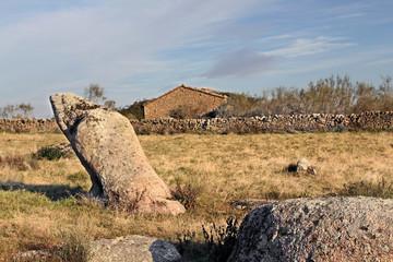 Wall Mural - Corral en la Morisca, Montehermoso, Cáceres, España