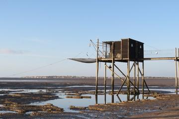Charente-Maritime - Yves - Carrelet sur la plage