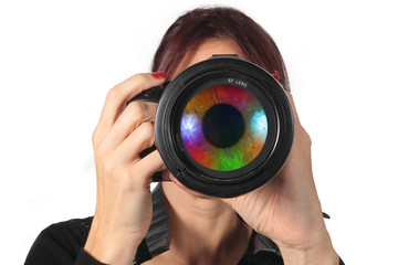 l'oeil coloré