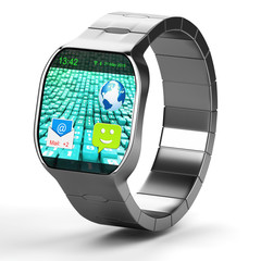 Smartwatch isolated