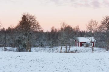 Wintertime in Sweden