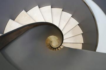 Foto auf Acrylglas Treppe Wendeltreppe