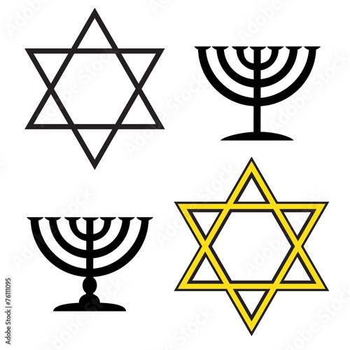 Почему у евреев звезда шестиконечная