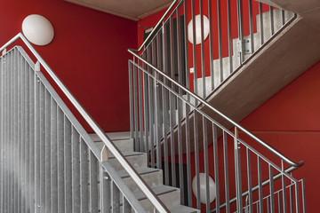 Geländer Treppenhaus