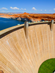 Photo sur Plexiglas Barrage Glen Canyon Dam