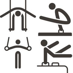 Gymnastics Artistic icons