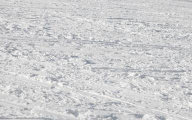 Snow after ski