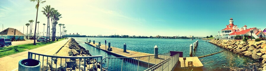 An ordinary sunny day in Long Beach LA