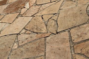 Natural Stone Walkway Texture