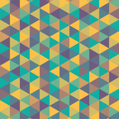color triangle background - vector illustration