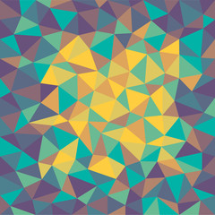 abstract color triangle background - vector illustration
