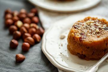 halva sweet ,Indian sweets in plate