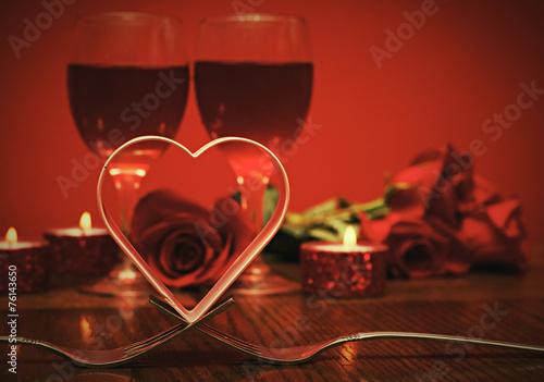 Fototapete Valentines day