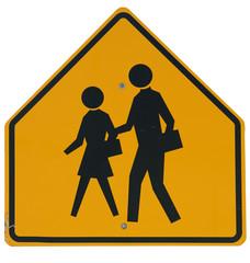 Signs: School Crossing Ahead