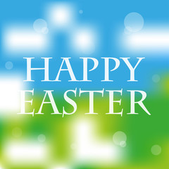 happy easter fresh spring abstract background