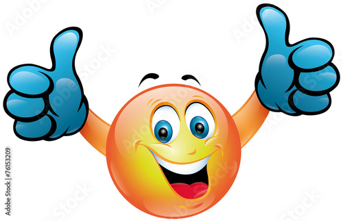Smiley pouces leves photo libre de droits sur la banque d 39 images image 76153209 - Image sourire gratuit ...