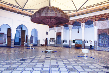 Arab architecture in Marrakech