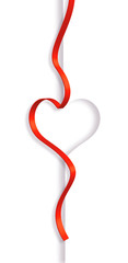 coeur ruban
