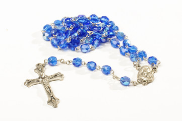 Dominican rosary isolated