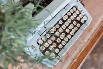 Old Manual Typewriter keys in Thai Language.