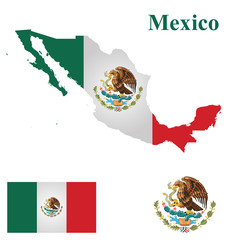 Flag of the United Mexican States