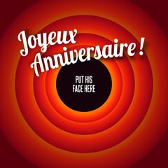 Photos Illustrations Et Videos De Joyeux Anniversaire Francais