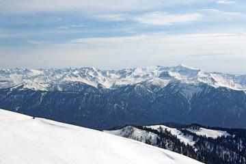 Aibga Ridge, Sochi, Krasnaya Polyana