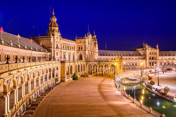 Seville, Spain at Spanish Square