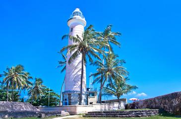 Light House At Galle Dutch Fort , Sri Lanka