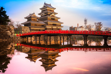 Photo sur Plexiglas Japon Matsumoto Castle, Japan.