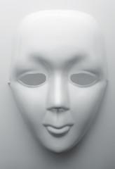 White face mask