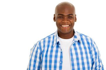 afro american man close up