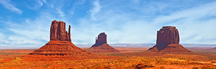 Foto op Canvas Natuur Nature in Monument Valley Navajo Park, Utah USA