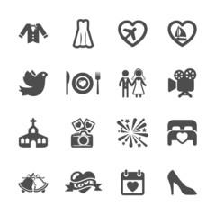 wedding icon set 3, vector eps10