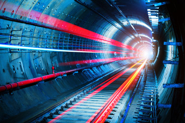 Photo sur Plexiglas Tunnel Subway Tunnel