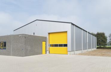 Poster Industrial geb. industrial warehouse