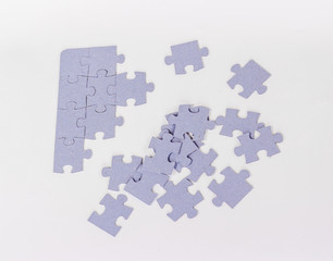 isolated puzzle