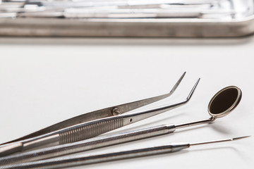 Different dental tools