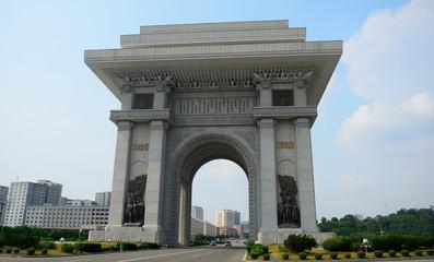 Arch of Triumph, Pyongyang, North-Korea