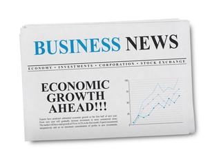 Business news newspaper