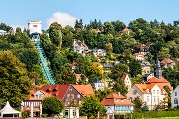 Funicular in Loschwitz
