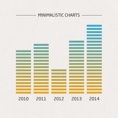 Vector Minimalistic Charts