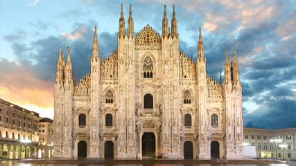 Tuinposter Milan Milan - Duomo