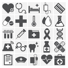 Healthcare Health Medicine Hospital Laboratory Icon Concept