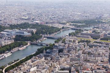 Paris vom Eifelturm